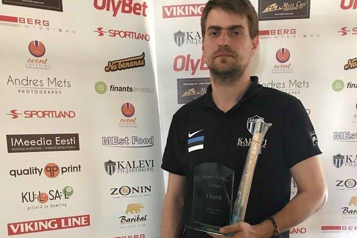 Esiliiga 2018 V etapi võitja Kaupo Saarmann
